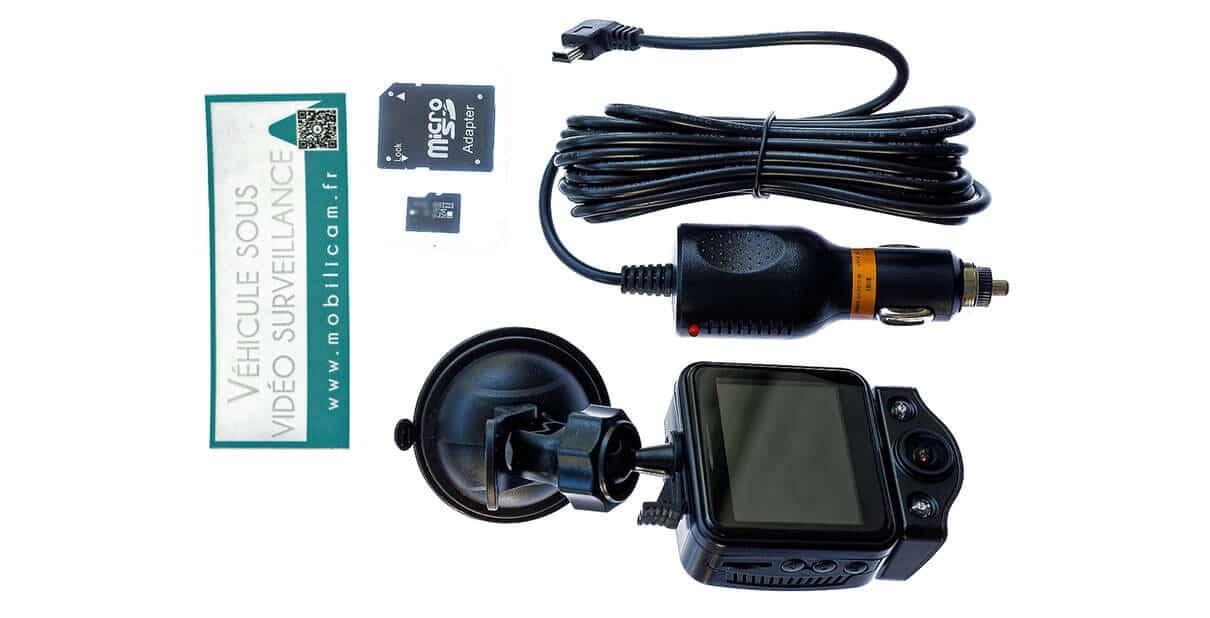 Contenu du colis du Pack Pro Campro - Mobilicam