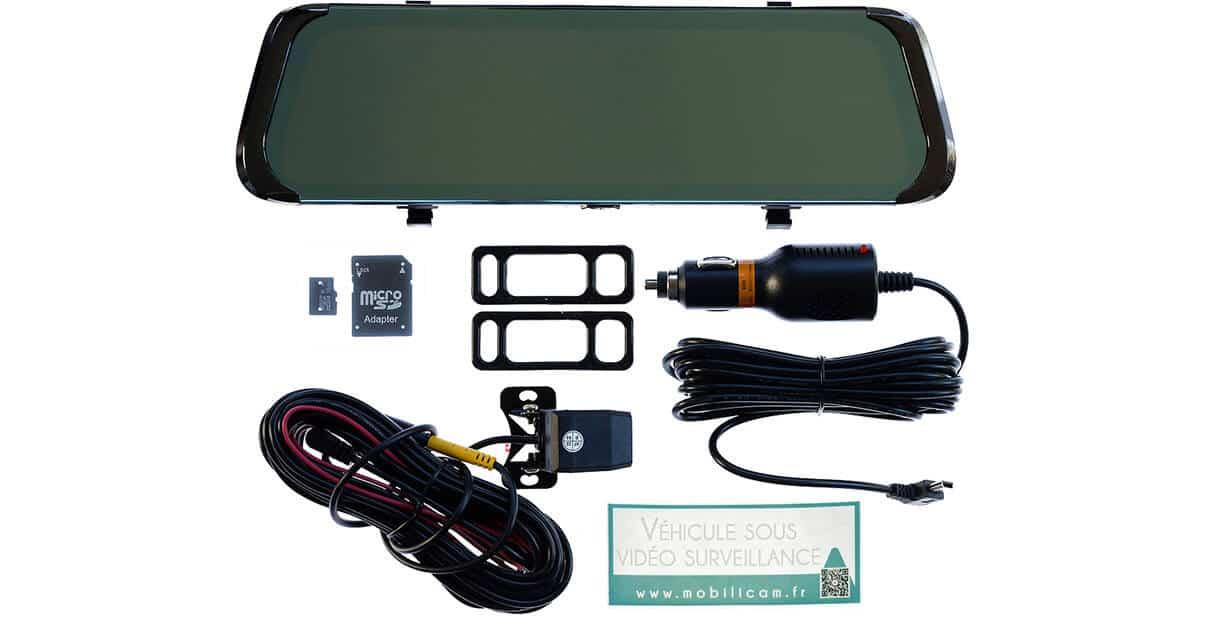 Contenu du colis du Pack Sécurité Rétrovision - Mobilicam