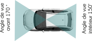 Angles de vision - Pack Pro - Caméra Campro - Mobilicam