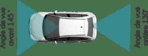 Angles de vision - Pack Sécurité - Caméra Rétrovision - Mobilicam