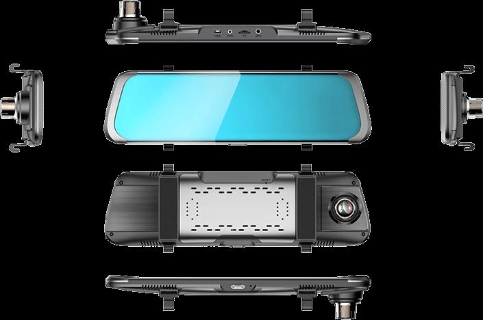 Dashcam Caméra embarquée Rétrovision - Mobilicam